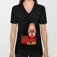 from Russia with loaf Unisex V-Neck