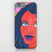 Strawberry Girl iPhone 6 Slim Case