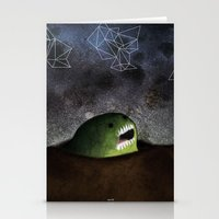 Asomandose Al Espacio Stationery Cards