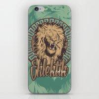 Lion print iPhone & iPod Skin