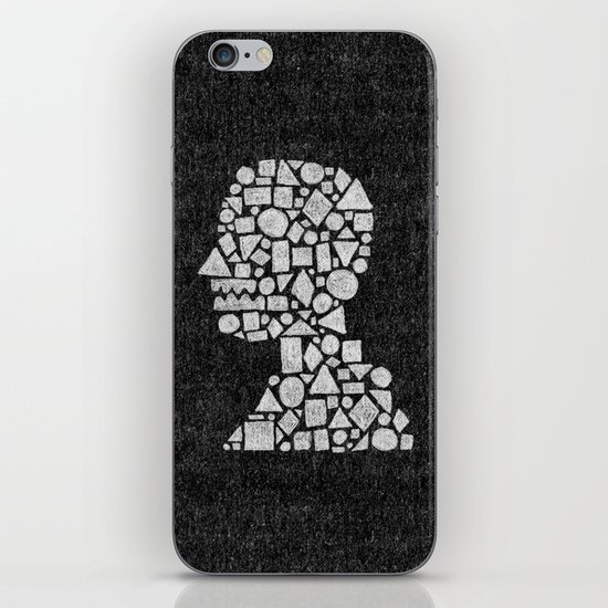 Untitled Silhouette in Reverse. iPhone & iPod Skin