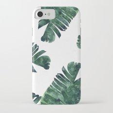 Banana Leaf Watercolor Pattern #society6 Slim Case iPhone 7