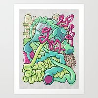 Biological Playground Art Print
