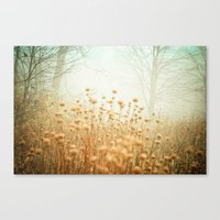 The Magic Of Fog Canvas Print