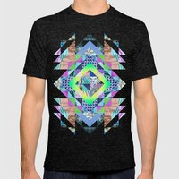 Clarice Mens Fitted Tee Tri-Black SMALL