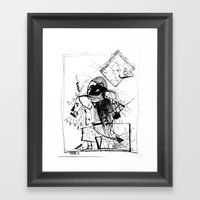 Gonzo Framed Art Print
