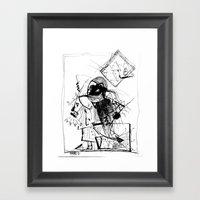 Gonzo Framed Art Print