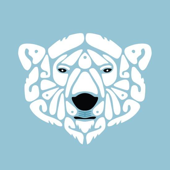 An Béar Bán (The White Bear) Art Print