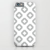 iPhone & iPod Case featuring Graphic_Tile Grey by Anna Rosa