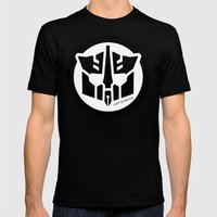 Art-O-Bots Mens Fitted Tee Black SMALL