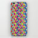 Rainbow Braids iPhone & iPod Skin