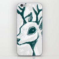 Sketchy Deer iPhone & iPod Skin