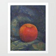 The Opulent Apple Art Print