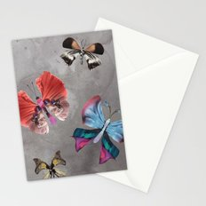 Floating Butterflies Stationery Cards
