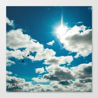 Clouds Song Canvas Print