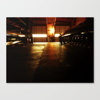Closed Shop Canvas Print