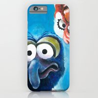 """iPhone & iPod Case featuring Gonzo and Camilla Muppet Painting """"Still a Better Love Story"""" by Kristin Frenzel"""