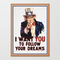 My Uncle Sam Canvas Print