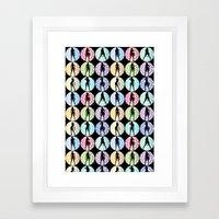 Bond girls Framed Art Print