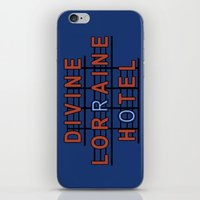 Divine Lorraine Hotel iPhone & iPod Skin