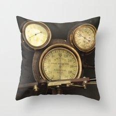 Iconic Gauge Throw Pillow