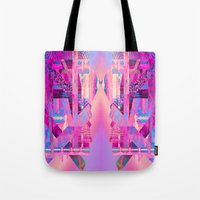 Taj Digi Collage Tote Bag