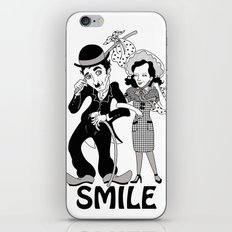 Charlie Smile iPhone & iPod Skin