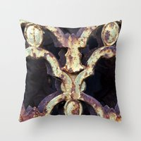 Metalwork I Throw Pillow