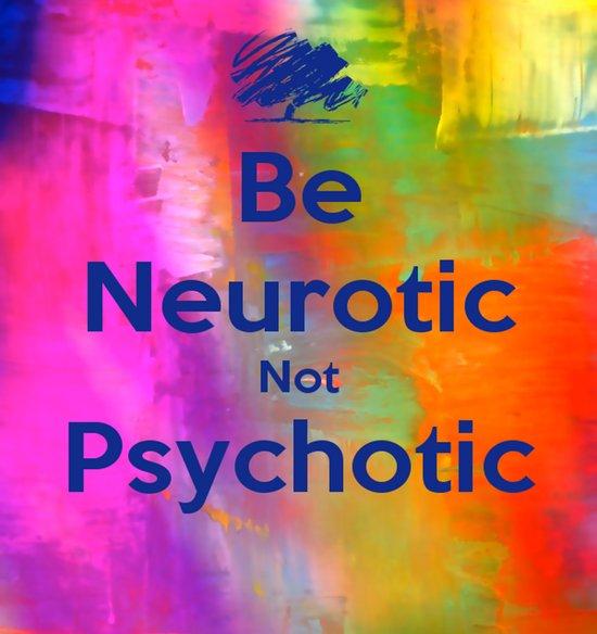 Be Neurotic Art Print