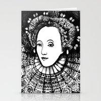 Queen Elizabeth I Portrait  Stationery Cards