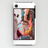 iPhone 3Gs & iPhone 3G Cases featuring The Getaway by Rudy Faber