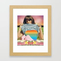Internal Rainbow II Framed Art Print