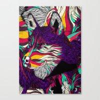 Color Husky (Feat. Bryan Gallardo) Canvas Print