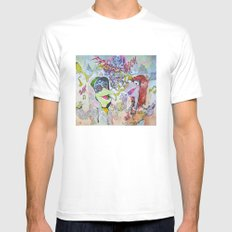 fraggle cock SMALL White Mens Fitted Tee