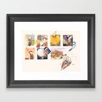 Acts Like Summer, Walks … Framed Art Print