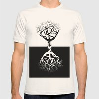 tree Mens Fitted Tee Natural SMALL