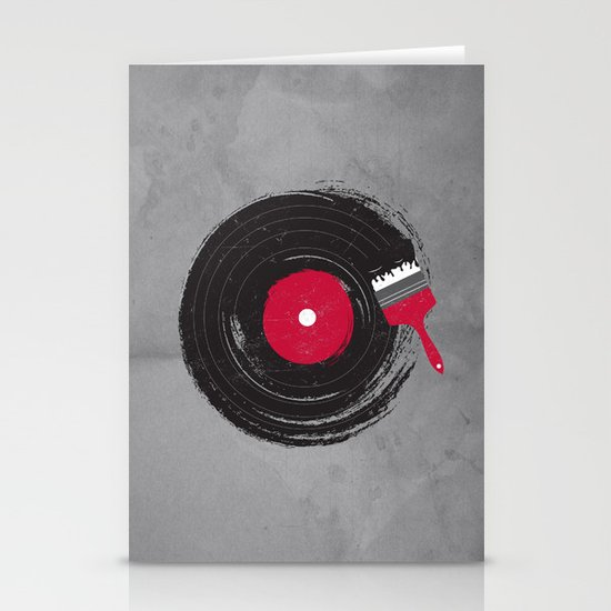 Art of Music Stationery Card