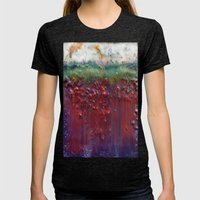 Colors Of The Season (ch… Womens Fitted Tee Tri-Black SMALL