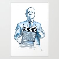 Action! Art Print