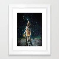 Star Catcher  Framed Art Print