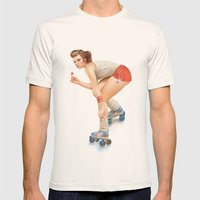 Pinup Mens Fitted Tee Natural SMALL