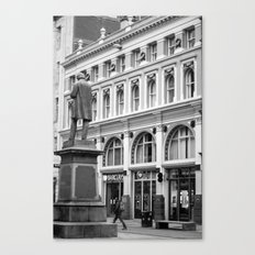The square Canvas Print