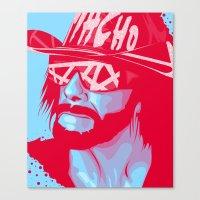 Macho King Canvas Print