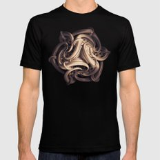 Six Realms of Existence SMALL Mens Fitted Tee Black