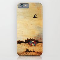 iPhone & iPod Case featuring A Day at the Beach by Red Lady Locks