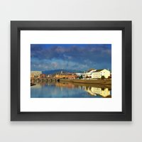 Barnstaple North Devon E… Framed Art Print