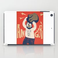 Anger iPad Case