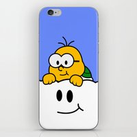 Minimalist Lakitu iPhone & iPod Skin