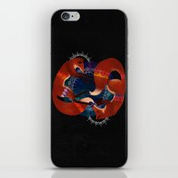 Space Foxes iPhone & iPod Skin