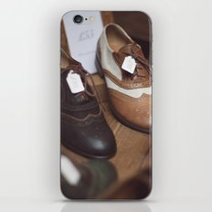 Camdem Shoes iPhone & iPod Skin